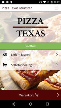 Pizza Texas Münster poster