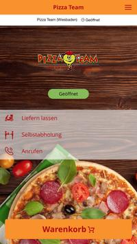Pizza Team poster