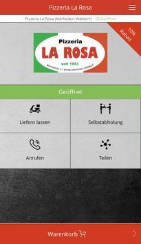 Pizzeria La Rosa screenshot 1