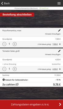 Pizzeria Romantica Bochum screenshot 1