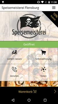 Speisemeisterei Flensburg poster