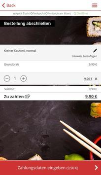 Wasabi Sushi screenshot 2