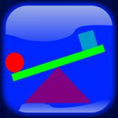 color balance ball icon
