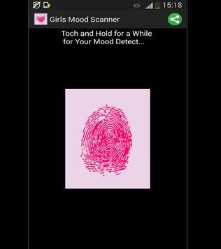 Girls Mood Scanner poster