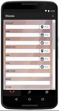 Shizuka Car Rental screenshot 1