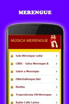 Música Bachata y Merengue gratis Radio screenshot 3