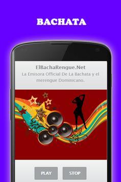 Música Bachata y Merengue gratis Radio screenshot 2