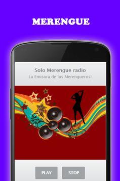 Música Bachata y Merengue gratis Radio screenshot 4
