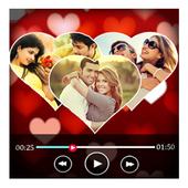 Valentine  Special Love Video Maker icon
