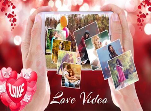 Valentine  Special Love Video Maker apk screenshot