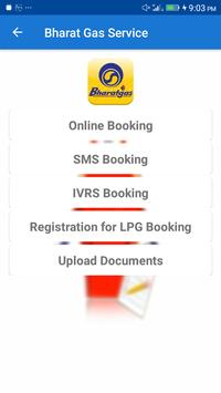 Gas Booking apk screenshot