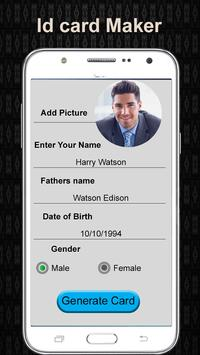 design fake identity card fake id card maker for android apk
