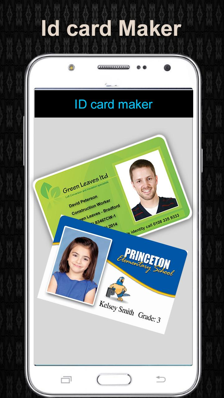 Design Fake Identity Card Fake Id Card Maker For Android Apk Download