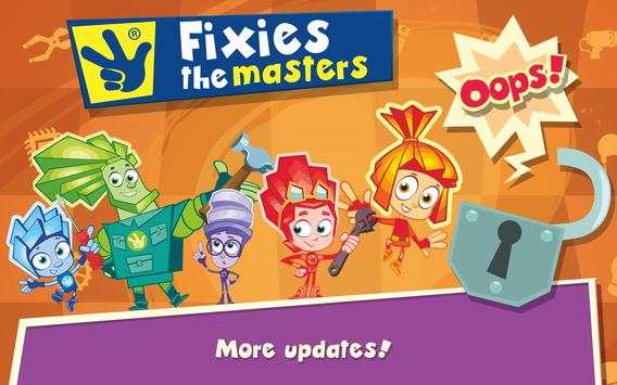 Fixies The Masters apk screenshot