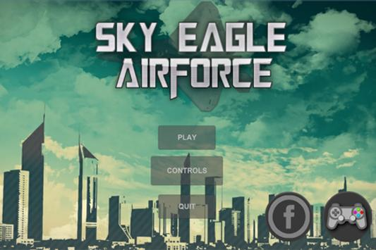 Sky Eagle Airforce poster