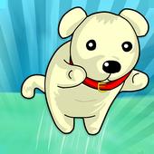 Sweet Running Dog icon