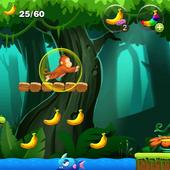 Monkey Jungle Banana icon