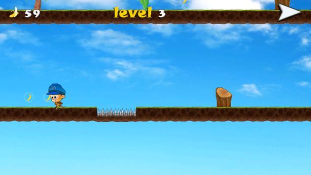 Monkey Jungle Banana screenshot 3