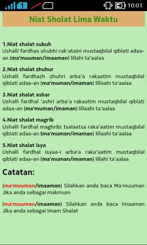 Tuntunan Sholat screenshot 1
