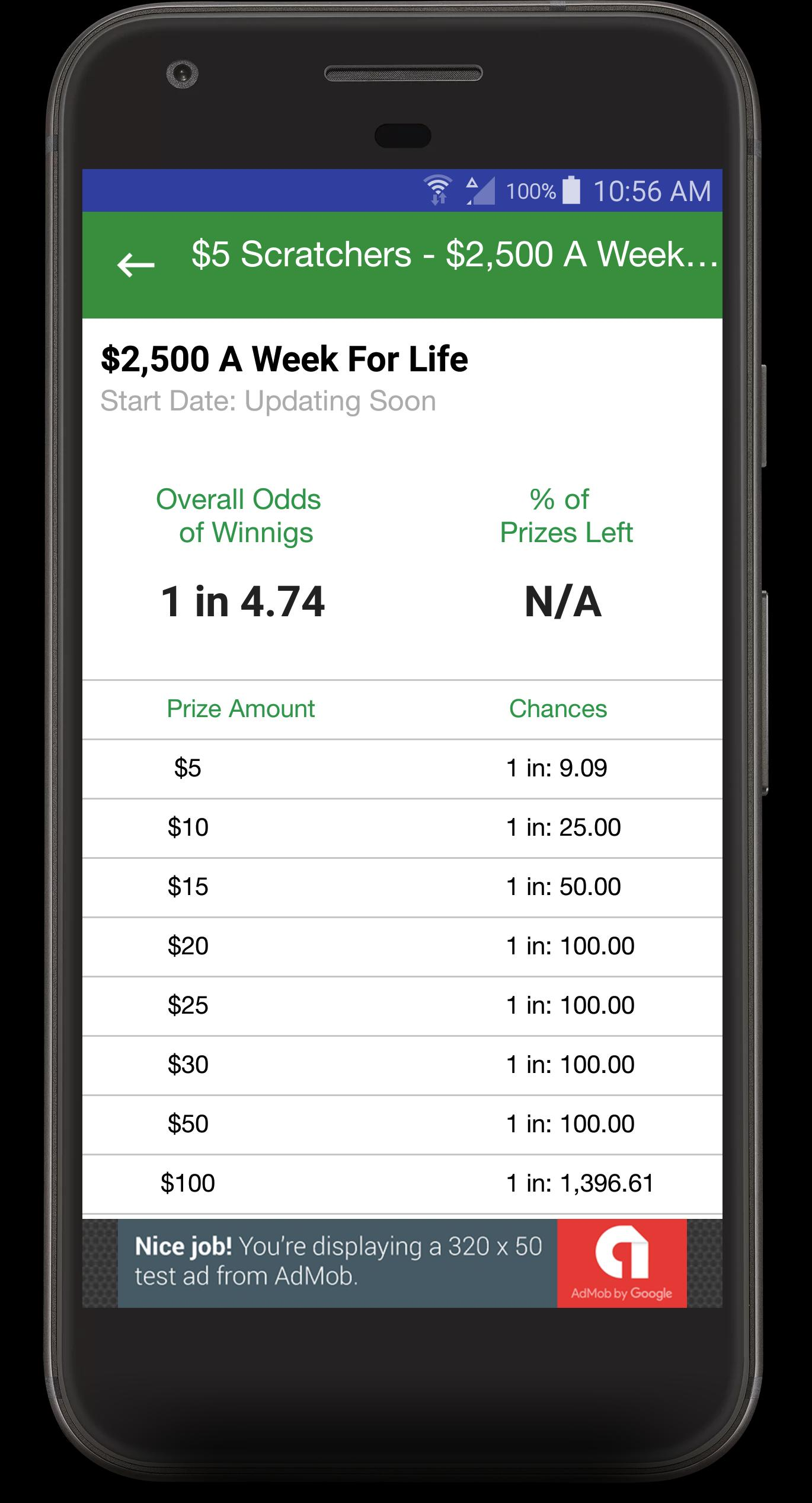 Lottery Scratch Off Odds - North Carolina for Android - APK Download
