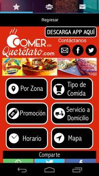 Comer en Queretaro poster