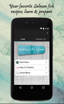 Salmon Recipes Guide poster