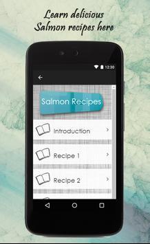 Salmon Recipes Guide screenshot 1