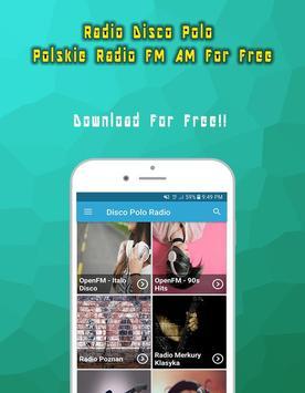 Radio Disco Polo Polskie Radio FM AM For Free poster