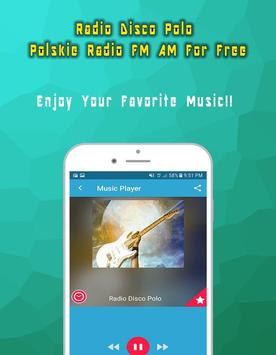 Radio Disco Polo Polskie Radio FM AM For Free screenshot 1