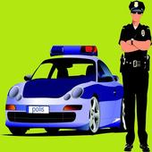 Crazy Policeman Cars icon