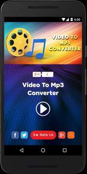 Video Converter To Audio Mp3 with Cutter poster