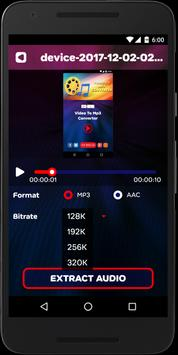 Video Converter To Audio Mp3 with Cutter screenshot 1