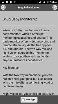Dog monitoring system screenshot 3