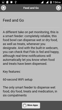 Dog monitoring system screenshot 2