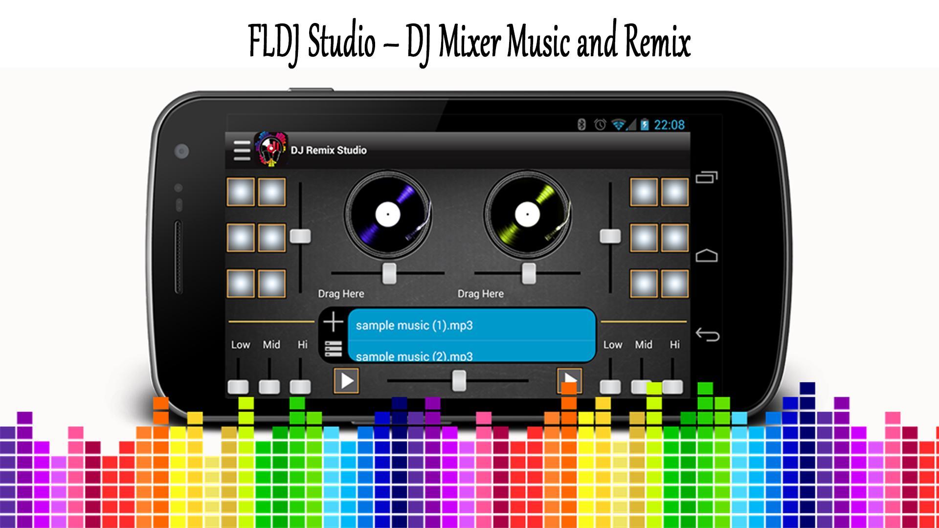 FLDJ Studio –Dj Mixer music with VIRTUAL FL STUDIO for Android - APK