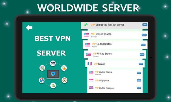 Ultra fast VPN Free Unblock Proxy, Wi-Fi Security screenshot 6