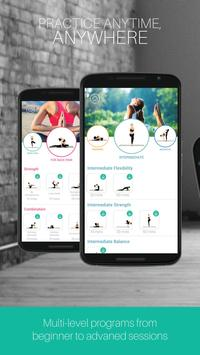 Yoga Academy Daily Fitness App poster