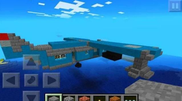 Airplane Mod MCPE 0.14.0 screenshot 1