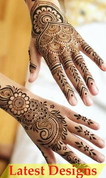 Arabic Simple Mehndi Design Collection poster