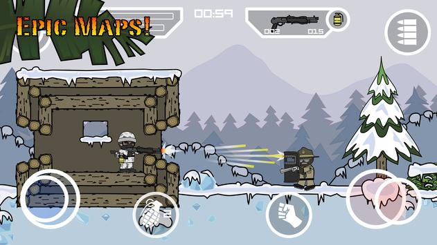 Doodle Army 2 : Mini Militia APK-screenhot