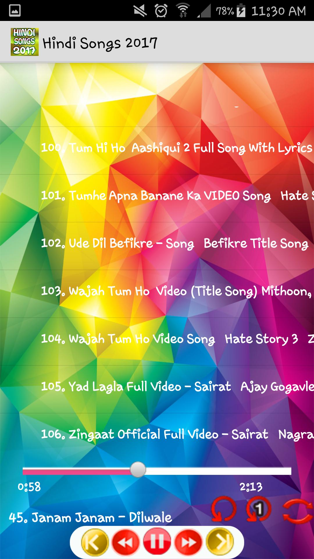 Hindi Songs 2017 Mp3 Free For Android Apk Download