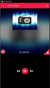 Kfi AM 640 Los Angeles Radio screenshot 5