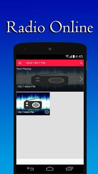 105.7 Max FM San Diego Radio screenshot 1