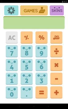 Cute Calculator Games apk screenshot