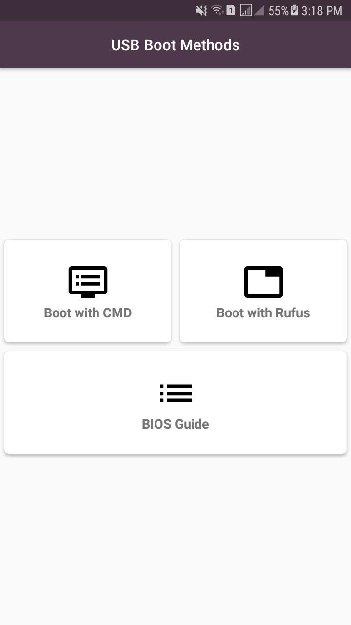 Usb - Bootable USB Methods – Install Multi Windows for Android - APK