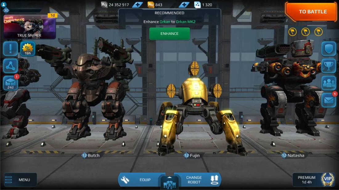 War robots free silver