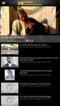 Ministerio Llamado a Santidad screenshot 1