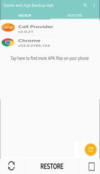 Games & Apps Apk Backup screenshot 1