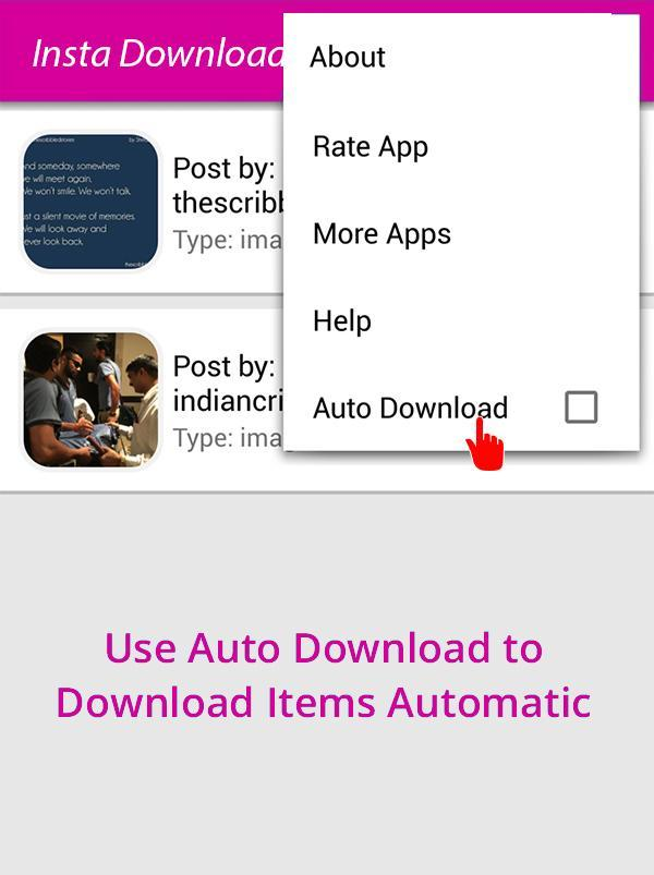 Insta Downloader Photo & Video for Android - APK Download