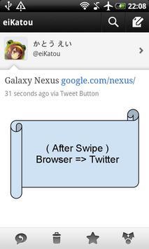 SwipeSwitcher Lite screenshot 1